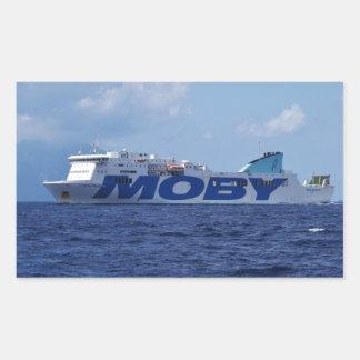 RoRo Passenger Ferry Maria Grazia On Rectangular Sticker