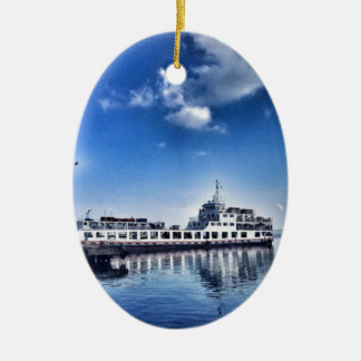 RoRo Travels in The hidden Island  of Philippines Ceramic Oval Decoration