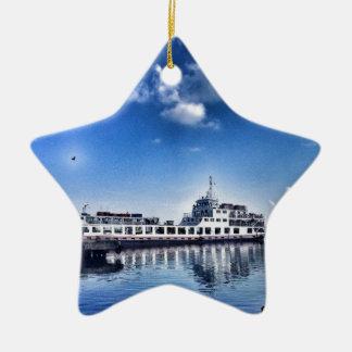 RoRo Travels in The hidden Island  of Philippines Ceramic Star Decoration