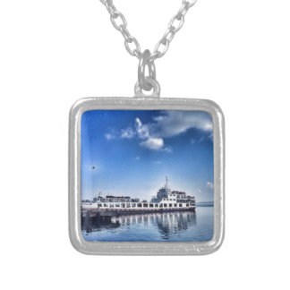 RoRo Travels in The hidden Island  of Philippines Silver Plated Necklace