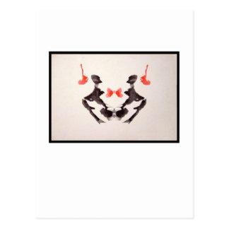 Rorschach Inkblot 3.0 Postcard