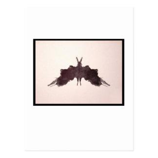 Rorschach Inkblot 5.0 Postcard