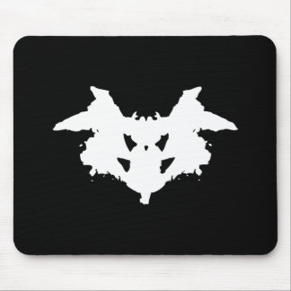 Rorschach Inkblot Mouse Pad