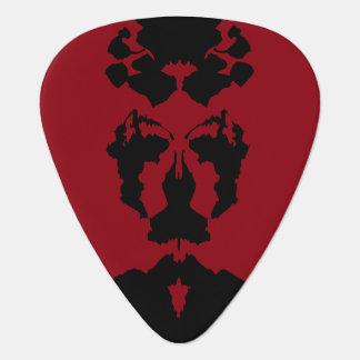 Rorschach Test Guitar Pick