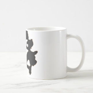 Rorschach Test of an Ink Blot Card Coffee Mug