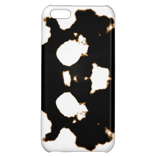 Rorschach Test of an Ink Blot Card in Black and Wh iPhone 5C Case