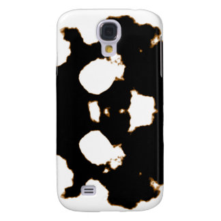 Rorschach Test of an Ink Blot Card in Black and Wh Samsung Galaxy S4 Case