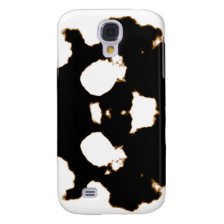 Rorschach Test of an Ink Blot Card in Black and Wh Samsung Galaxy S4 Covers