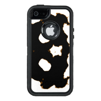 Rorschach Test of an Ink Blot Card in Black OtterBox iPhone 5/5s/SE Case