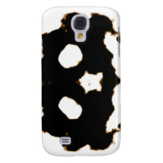 Rorschach Test of an Ink Blot Card in Black Samsung Galaxy S4 Cases
