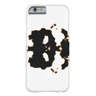Rorschach Test of an Ink Blot Card on White Barely There iPhone 6 Case
