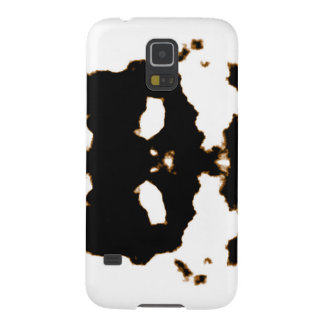 Rorschach Test of an Ink Blot Card on White Cases For Galaxy S5