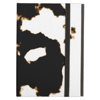 Rorschach Test of an Ink Blot Card on White Cover For iPad Air