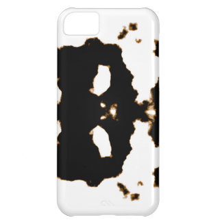 Rorschach Test of an Ink Blot Card on White iPhone 5C Case