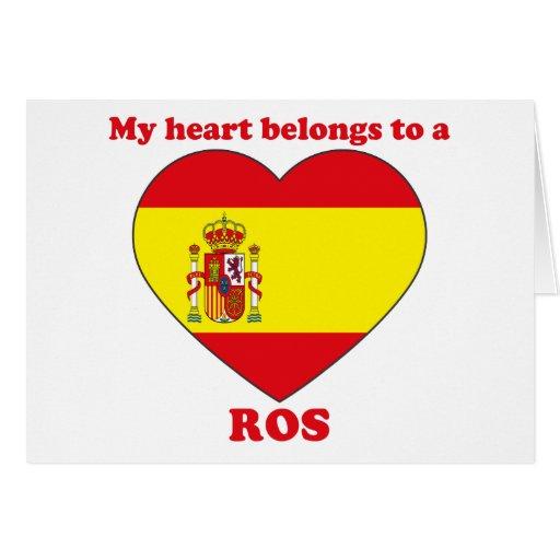 Ros Card