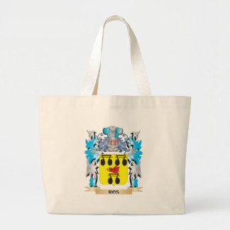 Ros Coat of Arms - Family Crest Jumbo Tote Bag