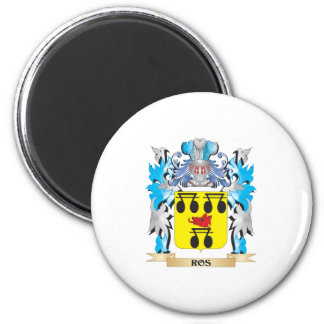 Ros Coat of Arms - Family Crest Magnets