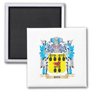 Ros Coat of Arms - Family Crest Refrigerator Magnet