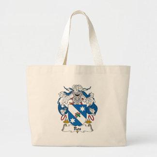 Ros Family Crest Jumbo Tote Bag