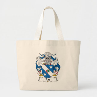 Ros Family Crest Tote Bags
