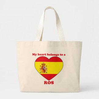 Ros Jumbo Tote Bag