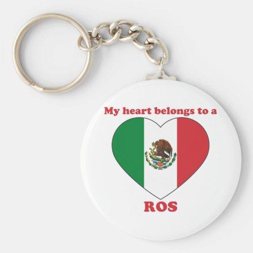 Ros Key Chain