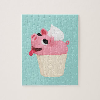 Rosa are a cup cake jigsaw puzzle