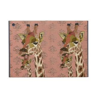 Rosa Giraffes Glitzy  iPad Case