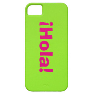 Rosa ¡Hola! on Verde Case For The iPhone 5