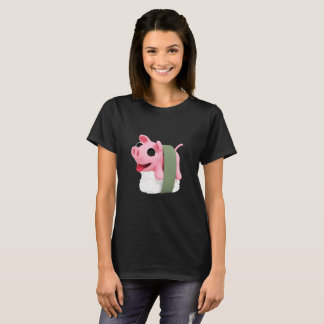 Rosa the Pig are a sushi T-Shirt