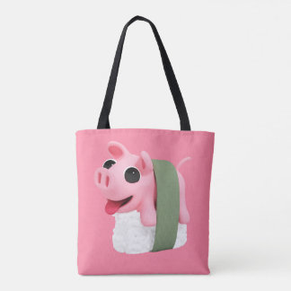 Rosa the Pig are a sushi Tote Bag
