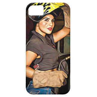 Rosa-the-welder iPhone 5 Covers