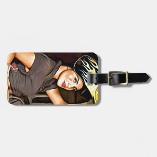 Rosa-the-welder Luggage Tag