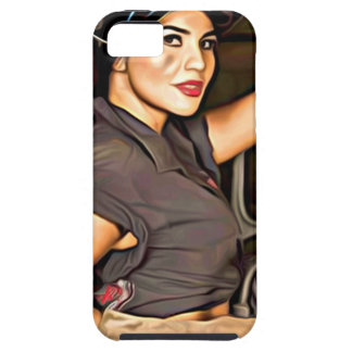 Rosa-the-welder Tough iPhone 5 Case