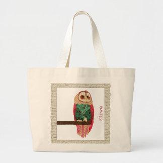 Rosa Vintage Owl Bag
