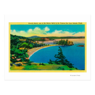 Rosario Beach in San Juan Islands, Washington Postcard