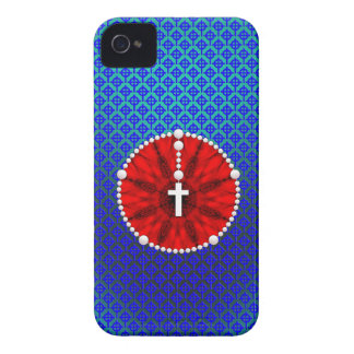 Rosary Dream Catcher Red iPhone 4 Case