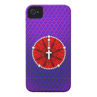 Rosary Dream Catcher Red iPhone 4 Cover