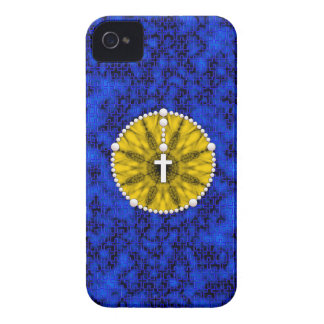 Rosary Dream Catcher Yellow iPhone 4 Case-Mate Case