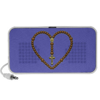 Rosary Heart No Logo Notebook Speaker
