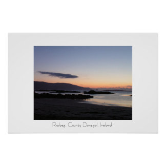 Rosbeg, County Donegal, Ireland Poster