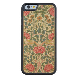 'Rose', 1883 (printed cotton) Carved® Maple iPhone 6 Bumper