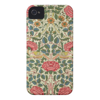 'Rose', 1883 (printed cotton) iPhone 4 Case-Mate Case