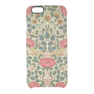 'Rose', 1883 (printed cotton) Clear iPhone 6/6S Case
