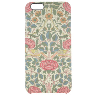 'Rose', 1883 (printed cotton) Clear iPhone 6 Plus Case