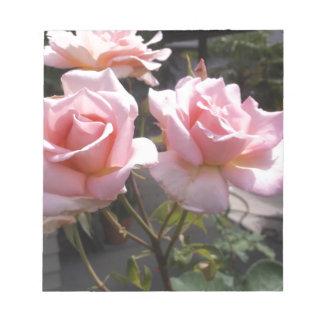 Rose #3 notepad