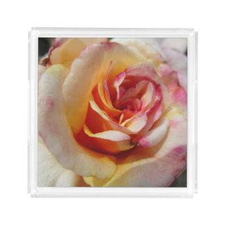 Rose Acrylic Tray