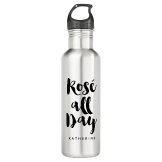 """Rose All Day"" 710 Ml Water Bottle"