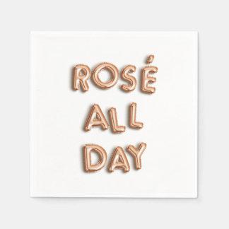 Rosé All Day Paper Napkin