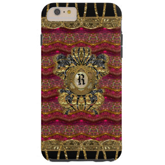 Rose Alley Girly 6/6s  Monogram Tough iPhone 6 Plus Case